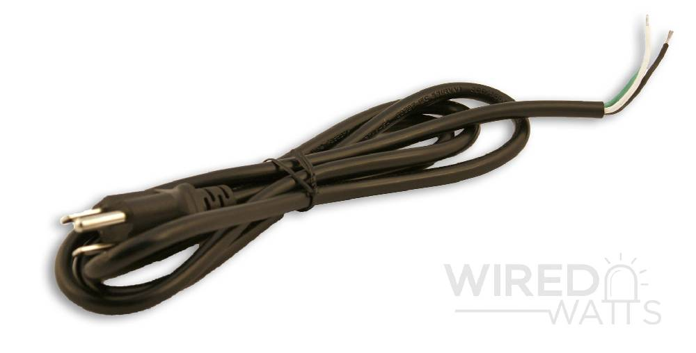 AC Power Cord 3 Core 18 AWG