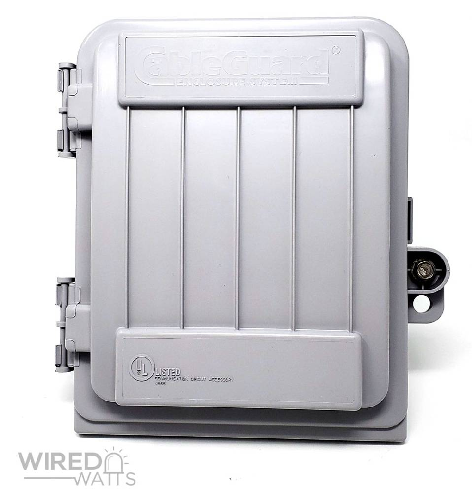 CableGuard CG-500 Weather Resistant Enclosure - Image 1