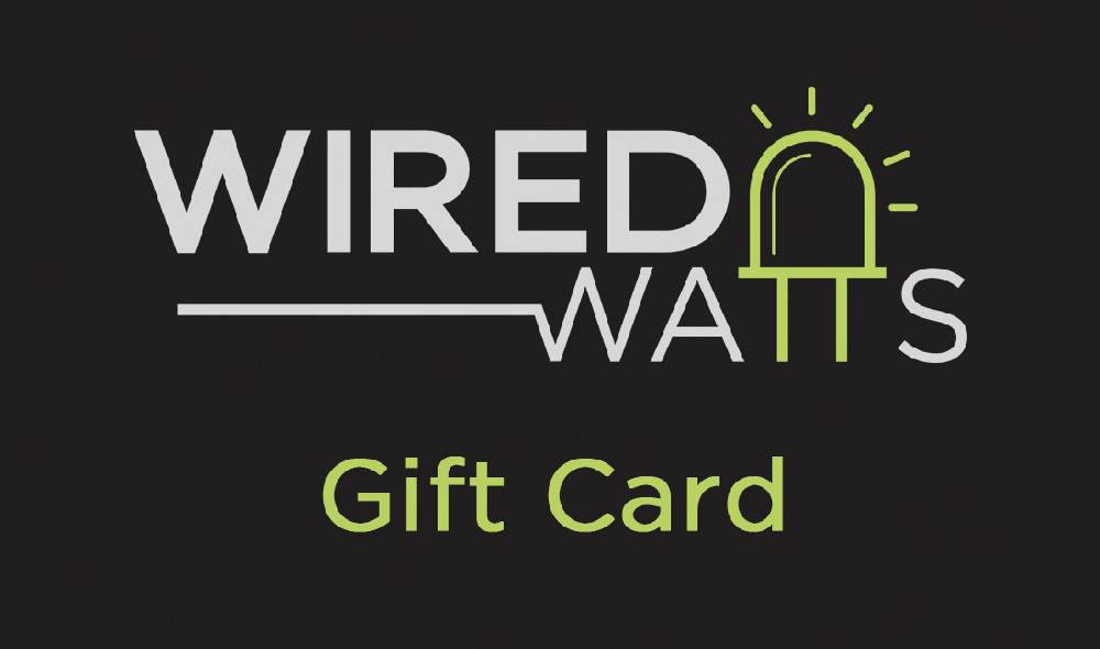 Wired Watts Gift Card
