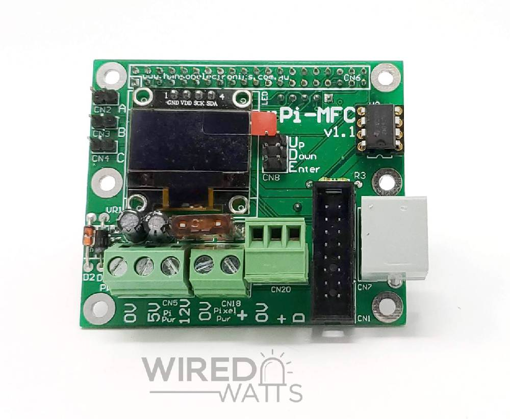 rPi-MFC Multi-Function Pi Cap By Hanson Electronics - Image 1