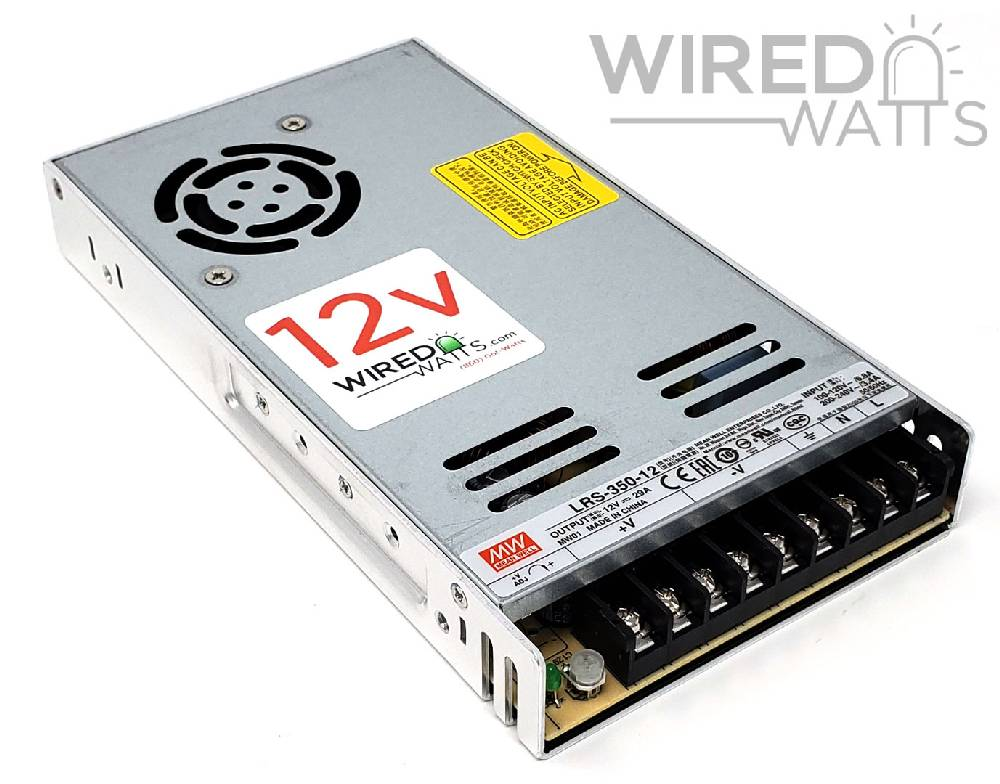 Meanwell LRS-350-12 12v 350w AC to DC Switching Power Supply