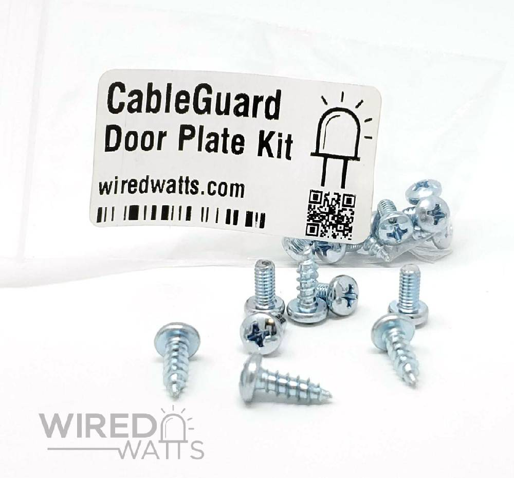 CableGuard CG1500 Door Plate Screw Kit - Image 1