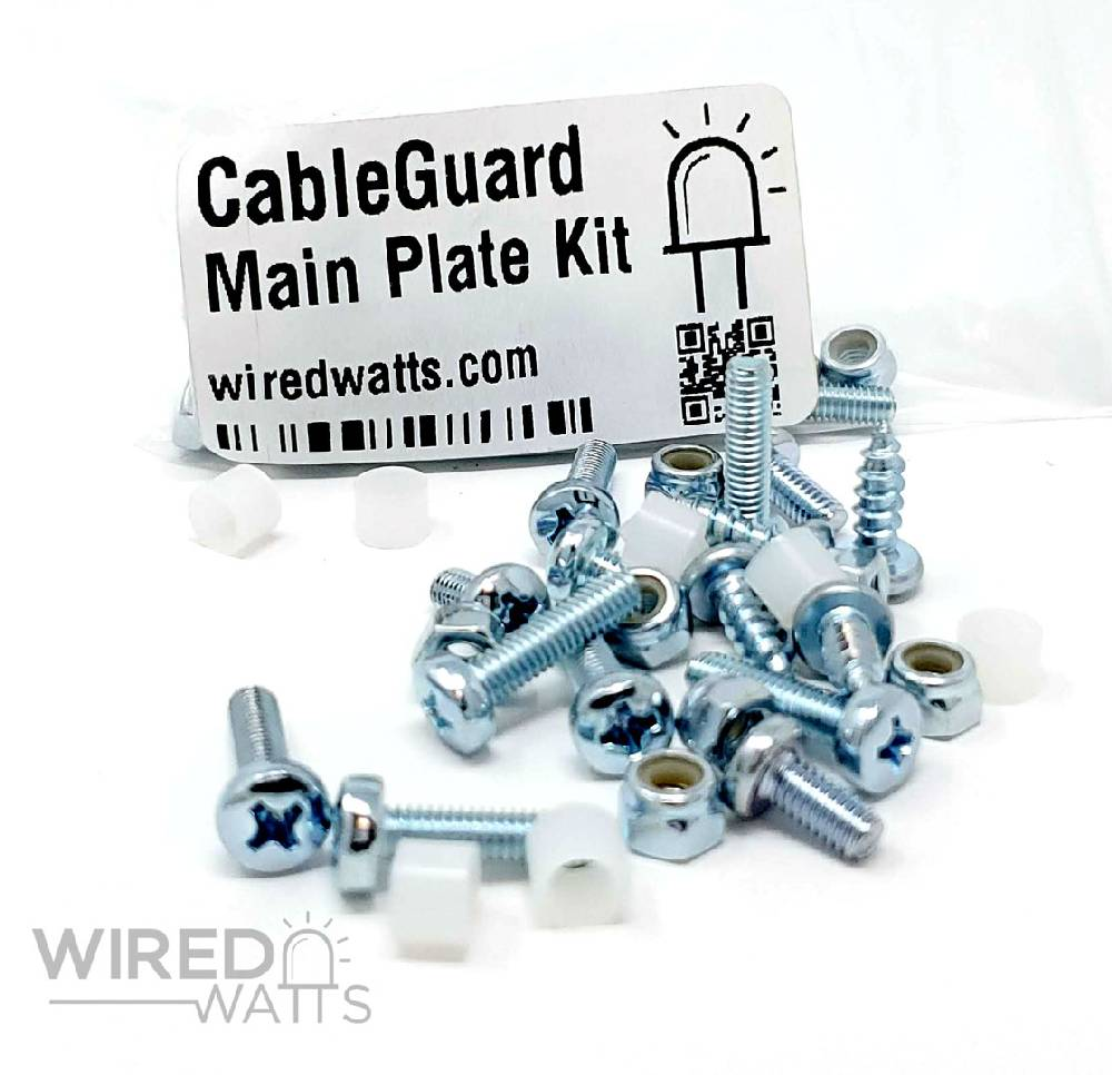 CableGuard CG1500 Falcon Plate Screw Kit - Image 1