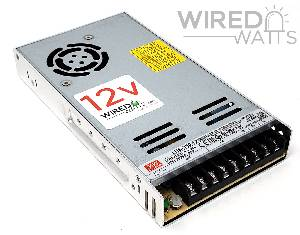 Meanwell LRS-350-12 12v 350w AC to DC Switching Power Supply - Image 1