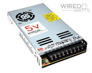Meanwell LRS-350-5 5v 350w AC to DC Switching Power Supply - Image 1